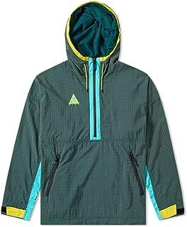 ACG Mens Woven Hooded Jacket Dark Atomic Teal/Hyper Jade/Vivid Sulfur Size 2XL