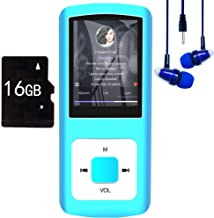 $23 » MP3 Player / MP4 Player, Hotechs MP3 Music Player with 16GB Memory SD Card Slim Classic Digital LCD 1.82'' Screen Mini USB...