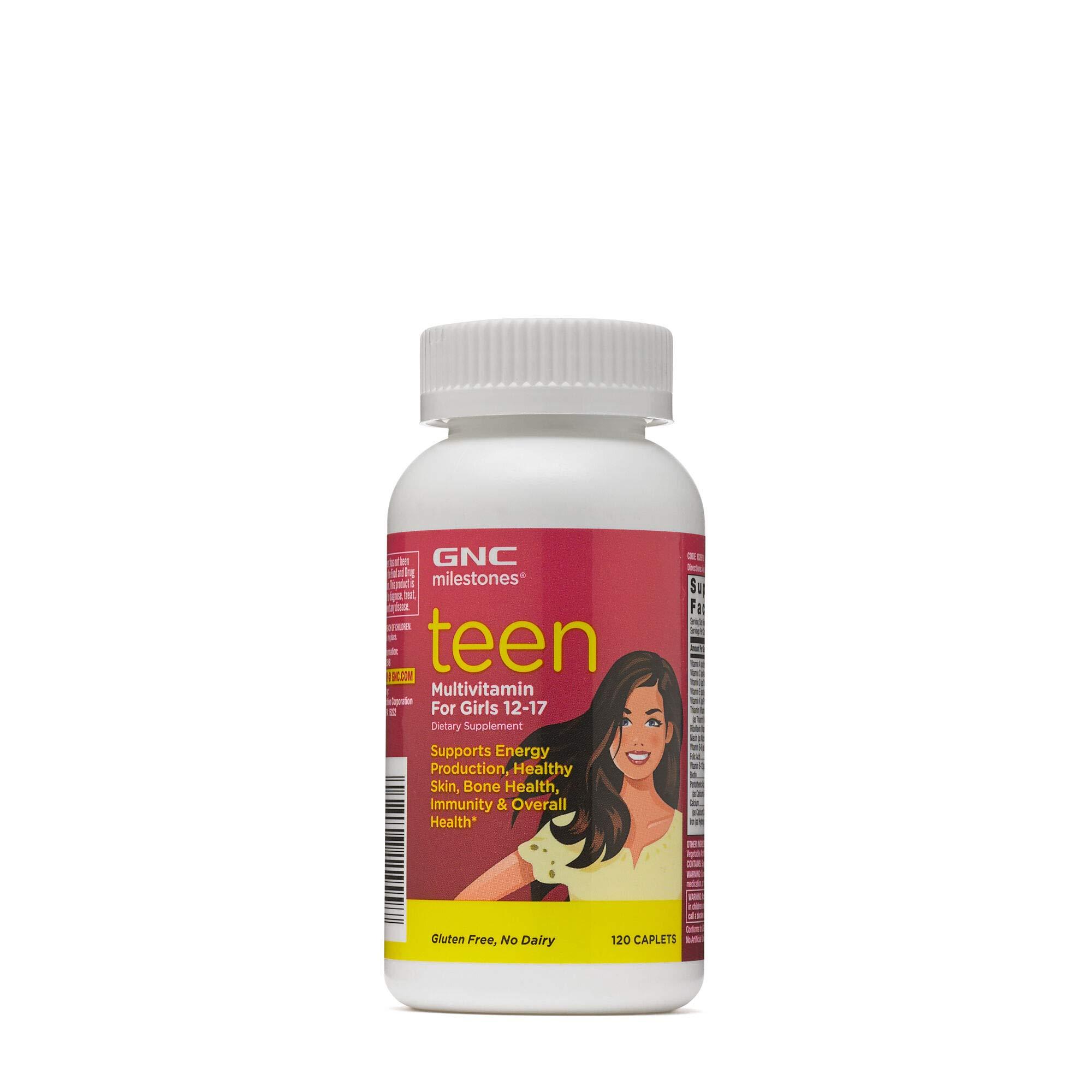 GNC milestones Teen Multivitamin Product