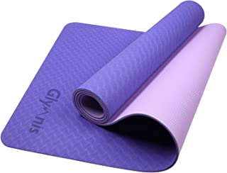 comprar comparacion Glymnis Esterilla Yoga Antideslizante Colchoneta Yoga Esterilla Deporte Esterilla Pilates con Correa 183mm x 61mm x 6mm