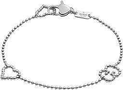 Boule Bracelet w/ Open Heart Motif
