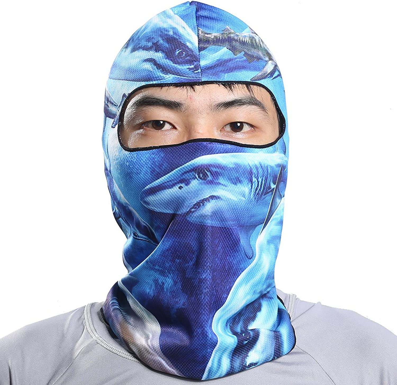 WorryFree Shopping 3D Game CS Animals Mask Multipurpose Cycling Motorcycle Headwear