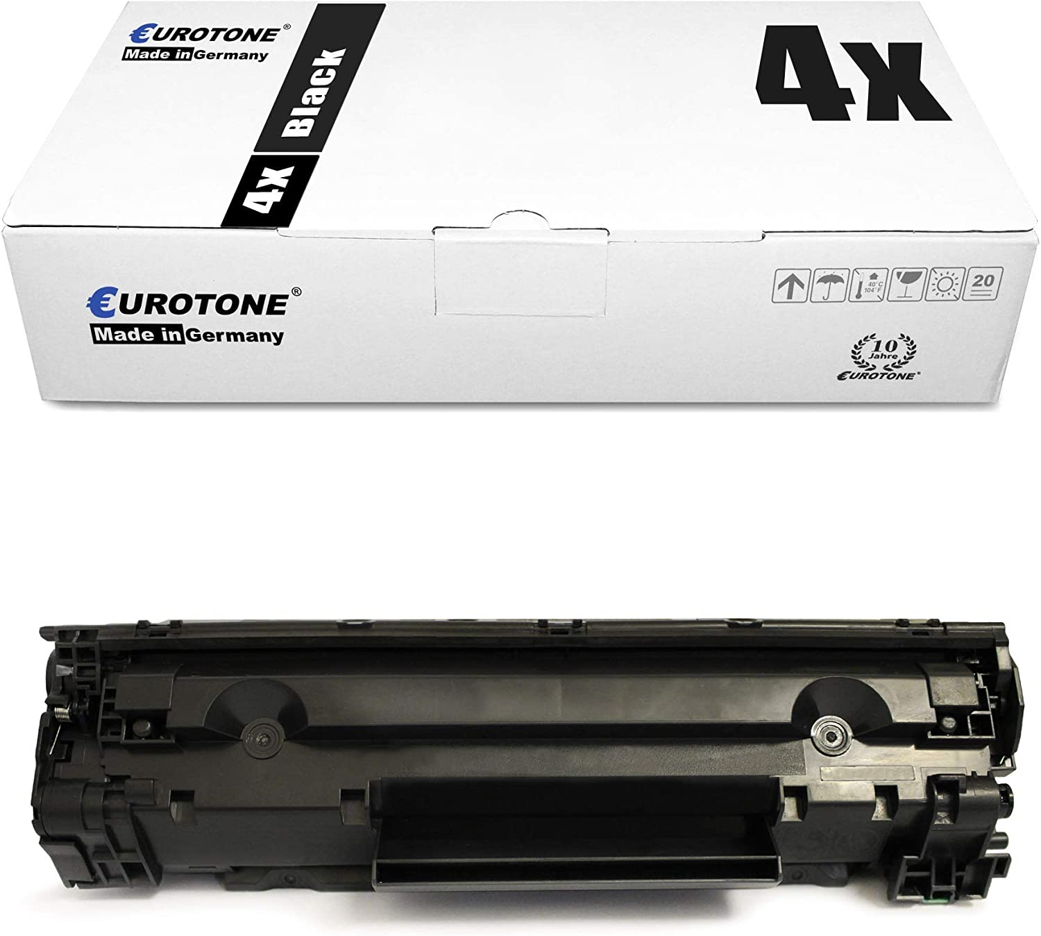 Eurotone Remanufactured Toner for HP Laserjet Professional P 1566 1567 1568 1569 1601 1603 1604 1605 1606 1607 1608 1609 dn n Replaces CE278A 78A