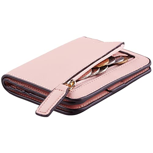 170ce6df49b6 NapaWalli Womens Rfid Blocking Small Compact Bifold Luxury Genuine Leather Pocket  Wallet Ladies Mini Purse with