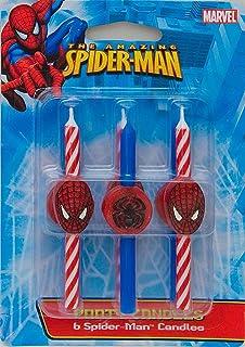 DecoPac Spider-Man Candles