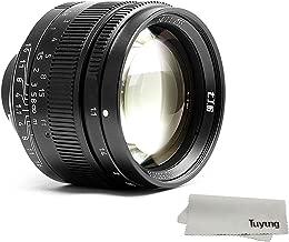 7artisans 50mm f1.1 Manual Lens for Leica M Mount M-M M240 M3 M6 M7 M8 M9p M10 - Black