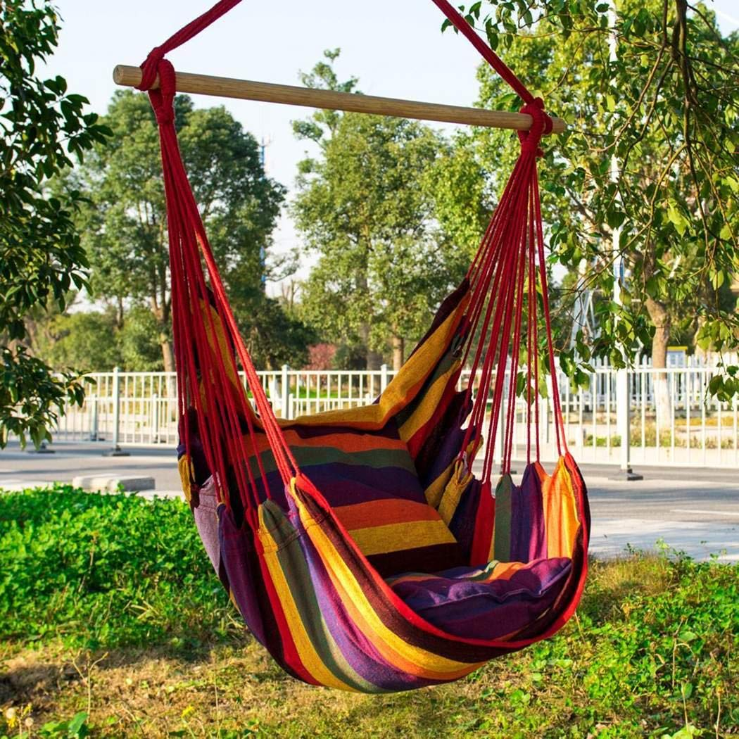 Leano Max 330 Lbs Hanging Rope Hammock C Buy Online In Canada At Desertcart