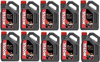 Motul 104092 Set of 10 7100 4T 10W-40 Motor Oil 1-Gallon Bottles