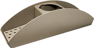 Organizador de Pia Flex Basic, 16,6 x 16,6 x 12 cm, Warm Gray, Coza