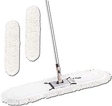 "Eyliden 36"" Professional Industrial Mop, Commercial Cotton Dust Mops Broom, Telescopic Handle Residential Commercial Floor..."
