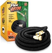 Flexi Hose 100 FT Lightweight Expandable Garden Hose | Ultimate No-Kink Flexibility..