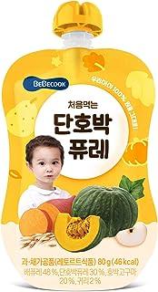 BeBecook My First Yummy Puree (Pumpkin w Oatmeal), 80 g
