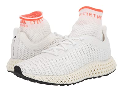 adidas by Stella McCartney Alphaedge 4D (Core White/True Orange/Core Black) Women