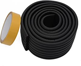 Store2508® Wide Flat Design Child Safety Strip WithStrong Fibreglass Tape for Baby Safety Child Proofing. (Black)