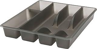 comprar comparacion Bandeja para cubiertos de plástico de Smacker, fácil de limpiar, para cajón de cocina, IKEA
