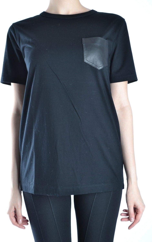 Alexander Wang Women's MCBI14252 Black Cotton TShirt