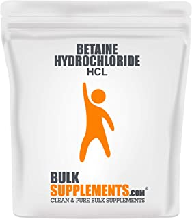 BulkSupplements Betaine HCL Powder (500 Grams)