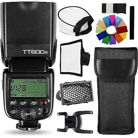 【正規品 技適マーク&日本語説明書】GODOX TT600S GN60 2.4Gカメラフラッシュスピードライト2.4GワイヤレスXシステムソニーSLRカメラ用a7II a7 a7r a7s A6000 A6300 A7MII (TT600S)
