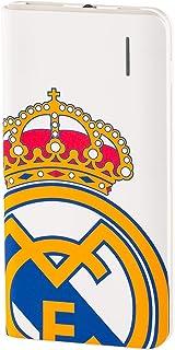 Real Madrid Batería Externa 4000 mAh - con el Escudo Oficial Compacta y Conexión Micro USB