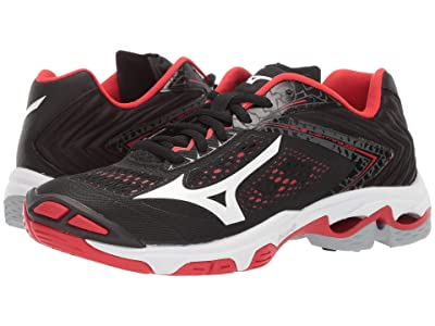 Mizuno Wave Lightning Z5 (Black/Red) Women