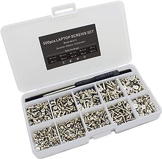 AGGER Kit de Remplacement de vis pour Ordinateur Portable de 300 pi/èces pour Ordinateur Portable pour IBM HP Dell