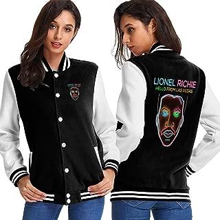 Lionel Richie Baseball Jacket Mens Womens Uniform Sweatshirt Sweater Plus Velvet Coat