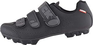 LUCK Zapatillas de Ciclismo Matrix Revolution MTB, con una estupenda Suela de Carbono Muy Ligera y rígida y Triple Velcro ...