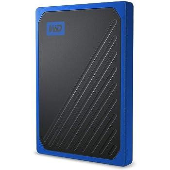 Western Digital WD My Passport Go SSD Portatile, 1 TB, Blu (Bordo Cobalto)
