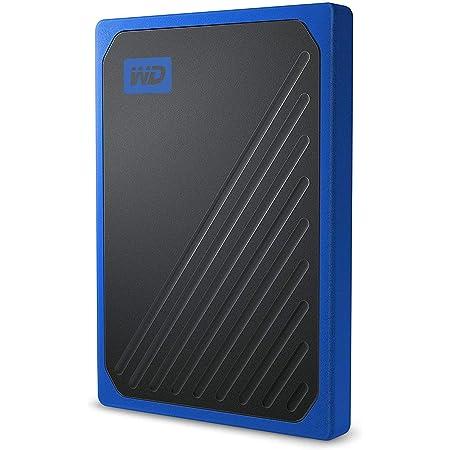 WD - My Passport Go 1TB - Disque SSD Portable - Finition Cobalt