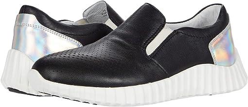 Black Waterproof Nappa Leather