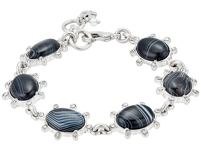 Lucky Brand  Agate Flex Bracelet (Silver) Bracelet