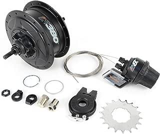 NuVinci Fallbrook Technologies N380 CVP Internal Gear Bicycle Rear Hub 32h Disc Brake // C8s