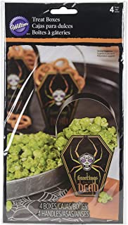 Wilton 1912-0452 Deadly Soiree Coffin Treat Bag, Assorted