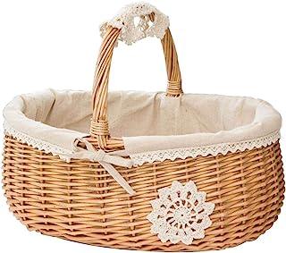 Dreamseeker Wicker Storage Basket Basket, Storage Box Storage Basket, Picnic Basket, Fruit Basket, Flower Basket