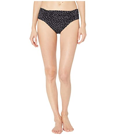 Tommy Bahama Sea Swell Side Shirred High-Waisted Bottoms (Black) Women