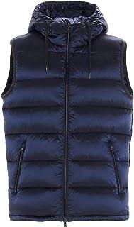 ラグジュアリーファッション | Herno メンズ PI068UR123449201 ブルー ポリアミド ベスト | 秋冬20