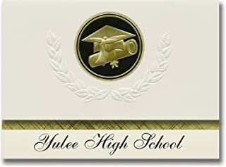 Signature Announcements Yulee High School (Yulee, FL) Graduation Announcements, Presidential style, Basic package of 25 Ca...