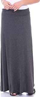 Popana Women's Casual Long Convertible Maxi Skirt Summer Beach Cover Up Made in USA