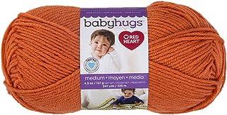 RED HEART Baby Hugs Medium, Orangie