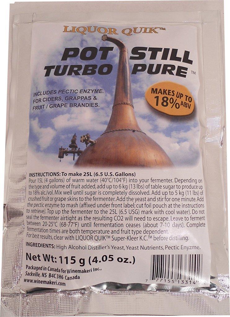 Liquor Quik Pot Still Turbo Pure