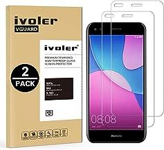iVoler [2 Pack] Pellicola Vetro Temperato per Huawei Y6 PRO 2017 / Huawei P9 Lite Mini [Garanzia a Vita], Pellicola Protettiva, Protezione per Schermo