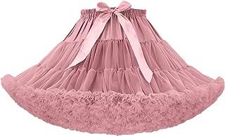 AIBIYI Soft Puffy Tulle Petticoat Costume Ballet Dance Short Tutu Skirts P7