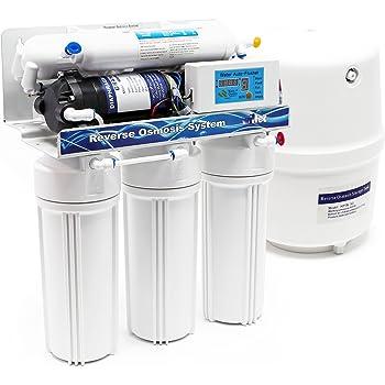 Naturewater NW-RO50-D1 Equipo osmosis inversa (RO) 190l/día Filtración agua Filtro doméstico osmosis: Amazon.es: Hogar
