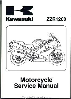 99924-1279-04 2002-2005 Kawasaki ZZR1200 Motorcycle Service Manual