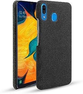 シェル の Samsung Galaxy A30, 耐久性のある 保護 スマホケース スリム 合う ケース バック スクラッチ耐性 シェル 電話 カバー Samsung Galaxy A30 Black