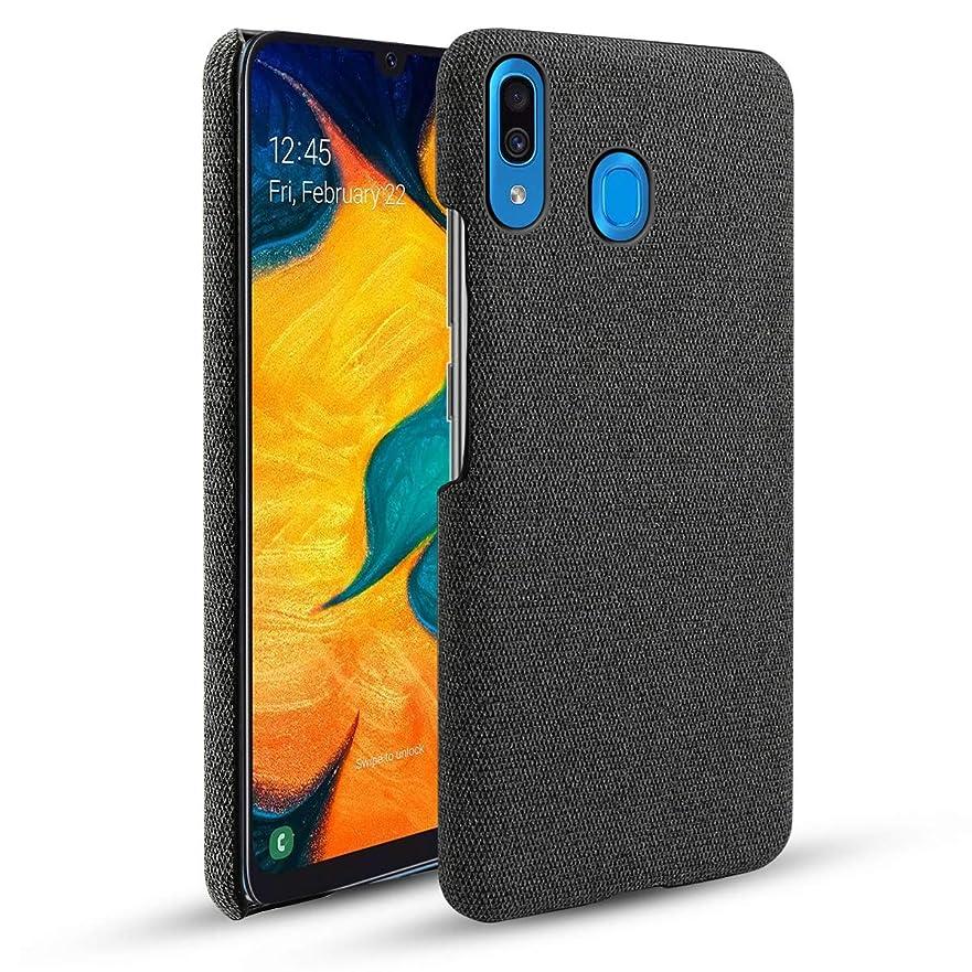 クマノミ若い気づかないシェル の Samsung Galaxy A30, 耐久性のある 保護 スマホケース スリム 合う ケース バック スクラッチ耐性 シェル 電話 カバー Samsung Galaxy A30 Black