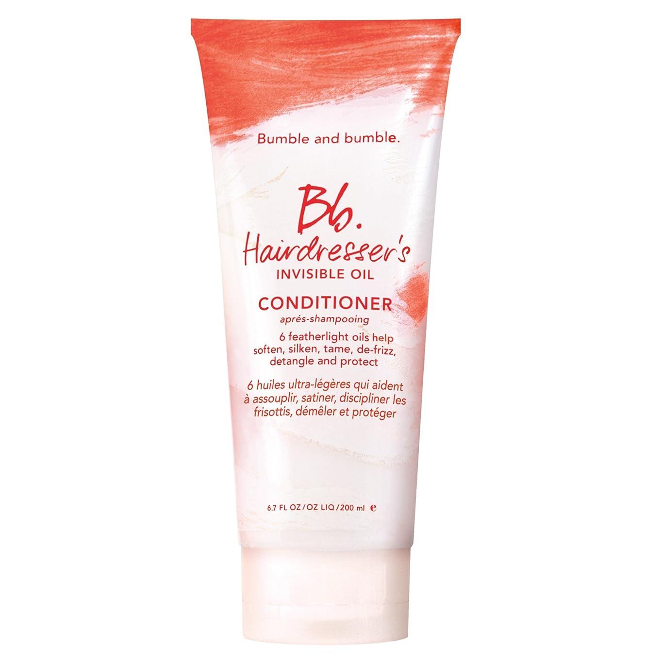 ホステル擬人化ナインへバンブルアンドバンブル美容見えないオイルコンディショナー200ミリリットル (Bumble and bumble) (x2) - Bumble and bumble Hairdressers invisible oil conditioner 200ml (Pack of 2) [並行輸入品]