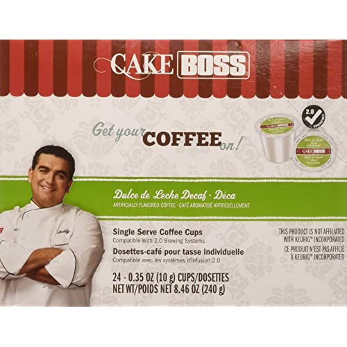 Cake Boss Coffee Dulce De Leche Decaf, 24 Count