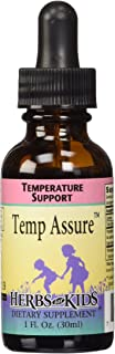 Herbs for Kids Temp Assure, 1 Ounce