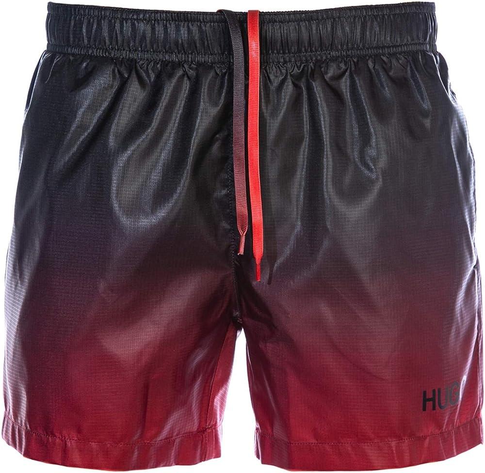 Hugo boss, costume da bagno per uomo a pantaloncini , 100% poliestere CMP4492